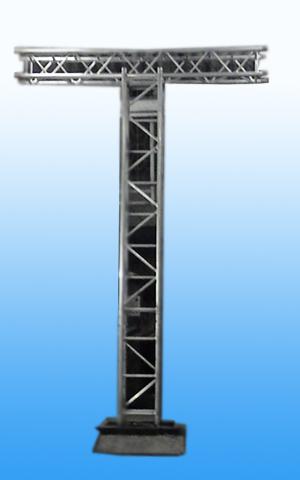 Aluminium Alloy Truss Scaffolding Square Box With Hinges