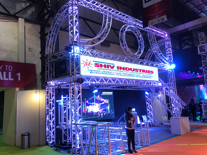 Exhibition Stall Lights : Truss structure multi truss car exhibition truss display booth